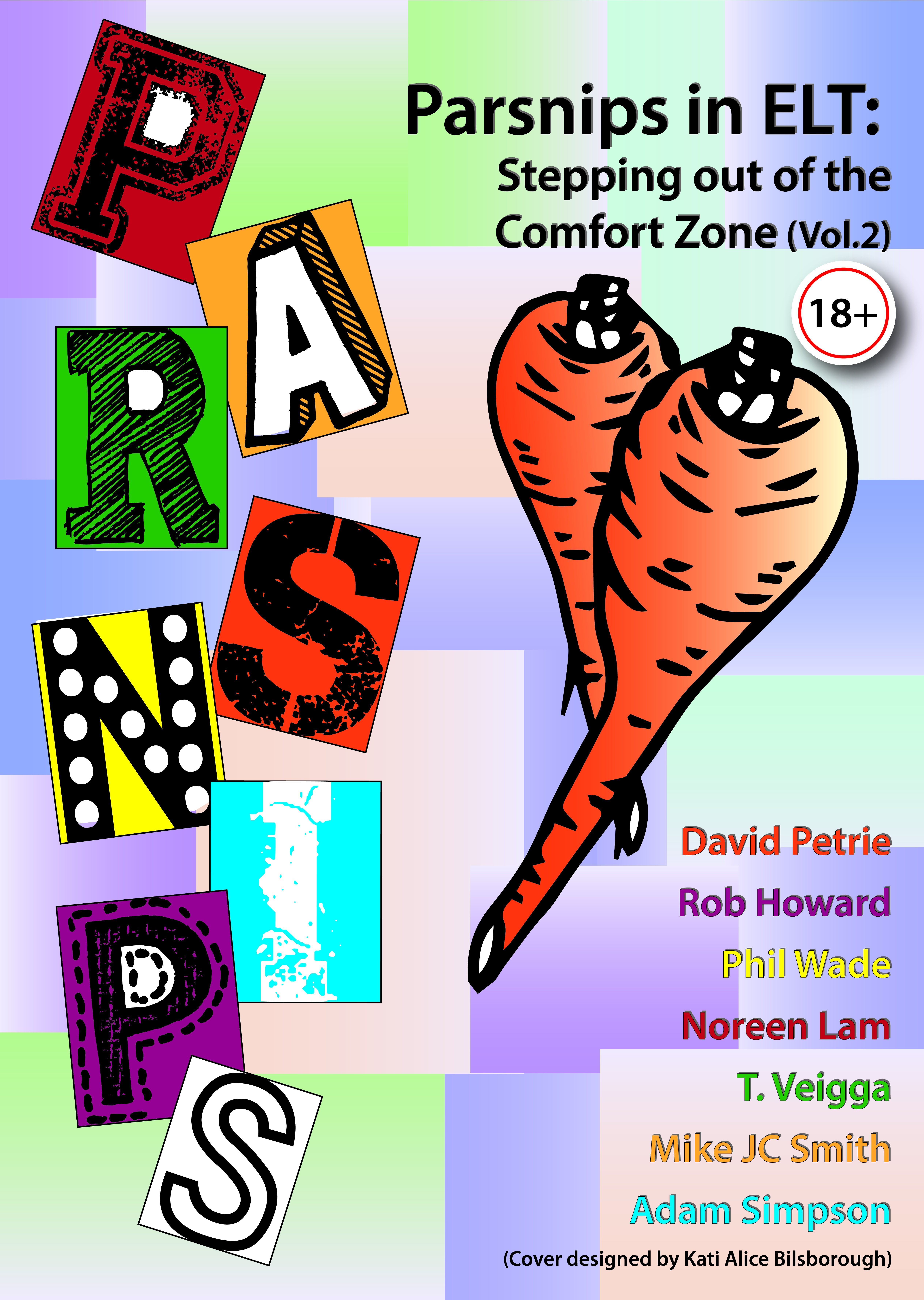 Introducing our free new ebook – Parsnips in ELT: Stepping out of the comfort zone (Vol. 2)