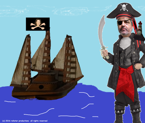 Sailing the Sea of CTRL C + V the copy & paste pirates